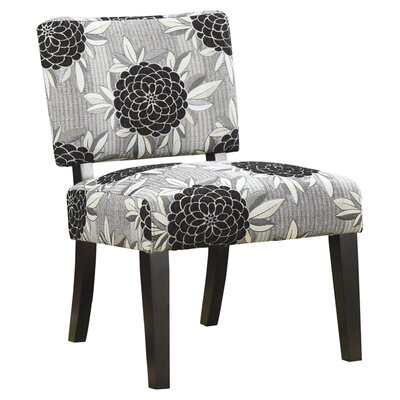 Wildon Home ® Toyah Flower Print Fabric Slipper Chair