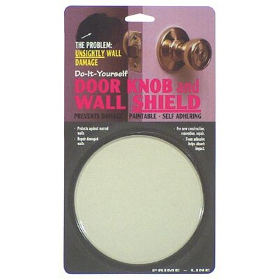 PrimeLine Door Knob and Wall Shield