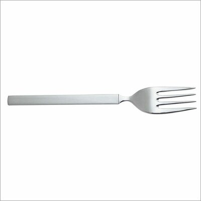 Dry Serving Fork in Mirror with Satin Handle by Achille Castiglioni