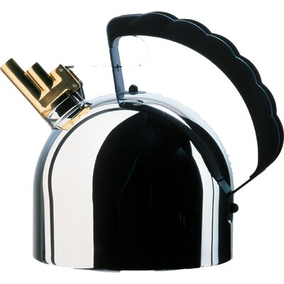 Alessi 2.09-qt. Steel Bottom Water Tea Kettle