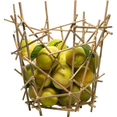 Alessi Blow-Up Bamboo Citrus Basket by Fratelli Campana