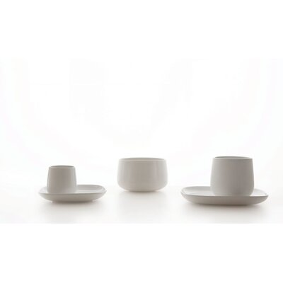 Alessi Ovale Saucer for Mocha Cup by Ronan and Erwan Bouroullec