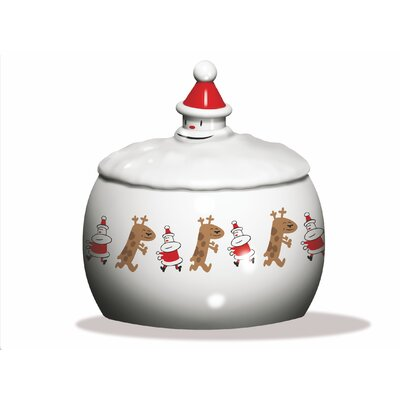 Alessi Let It Snow Biscuit Box