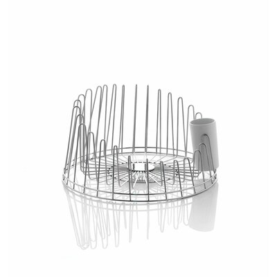 Alessi A Tempo Tray in White by Pauline Deltour