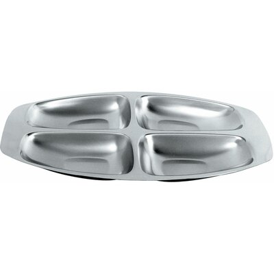Alessi Carlo Mazzeri 4 Section Divided Serving Dish