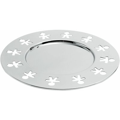 "Alessi Girotondo by King Kong 12.4"" Charger Plate"