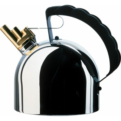 Alessi 2.11-qt. Whistle Water Tea Kettle