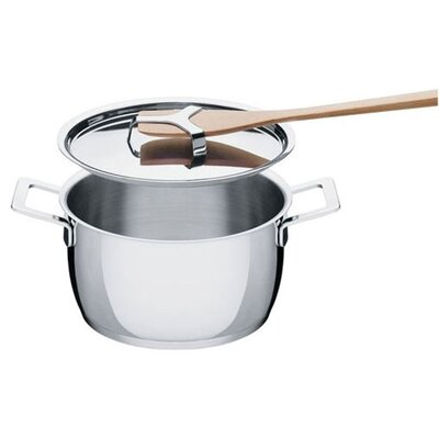 Alessi Pots and Pans Round High Casserole
