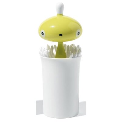 Alessi Pisellino Cotton Swab Holder by Stefano Giovannoni