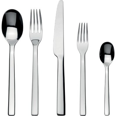 Alessi Ovale 5 Piece Flatware Set