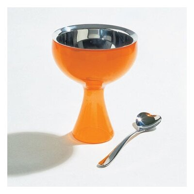 Alessi Miriam Mirri Big Love Ice Cream Bowl and Spoon