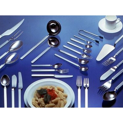 Alessi Dry Dinner Fork in Mirror with Satin Handle by Achille Castiglioni