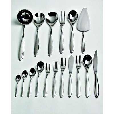 Alessi Caccia Dessert Fork by in Mirror Polished Luigi Caccia Dominioni