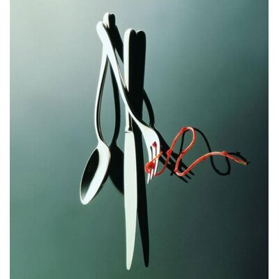 Alessi Caccia Dinner Fork in Mirror Polished by Luigi Caccia Dominioni