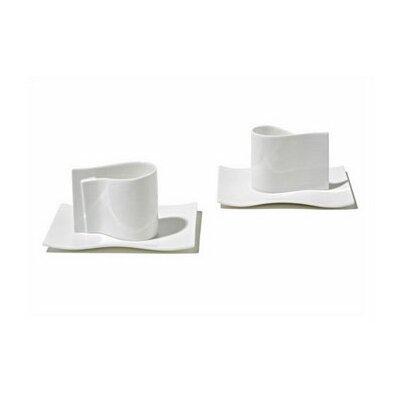 Alessi E-Li-Li  Mocha Cups by Massiliano & Doriana Fuksas