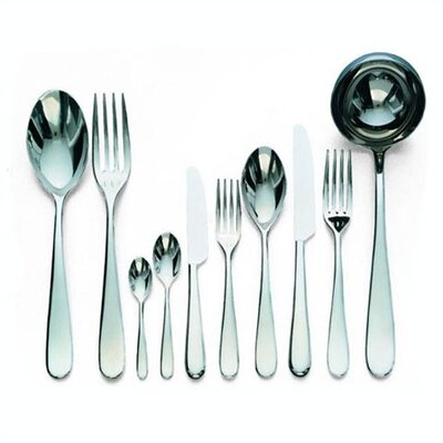 Alessi Nuovo Milano Flatware Collection in Mirror Polished by Ettore Sottsass