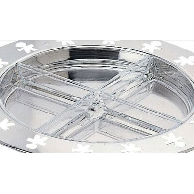 Alessi Girotondo Hors d'Oeuvre Plate by King Kong