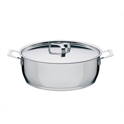 Alessi Pots and Pans by Jasper Morrison Round Casserole