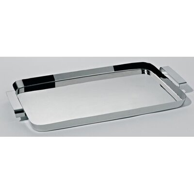 Alessi Tau Rectangular Tray with Handles by Kristiina Lassus