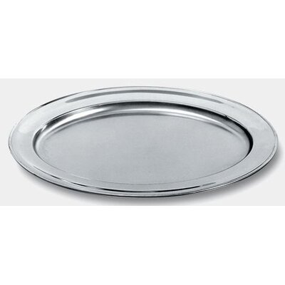 Alessi Ufficio Tecnico Alessi Oval Mirror Edge Finish Serving Plate