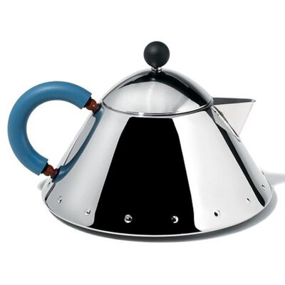 Alessi Michael Graves 35 oz. Stainless Steel Teapot