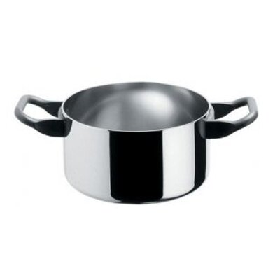La Cintura Di Orione Cookware 1.75-pt. Stainless Steel Round Casserole