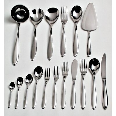 Alessi Mami Flatware Collection in Mirror Polished by Stefano Giovannoni