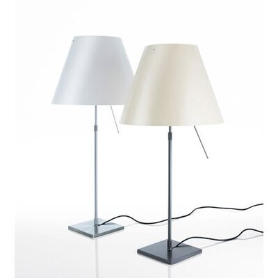 "Luceplan Costanza 43"" H Table Lamp with Empire Shade"