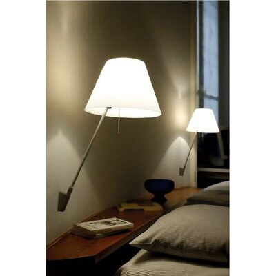 Luceplan Costanzina Wall Lamp with Optional Shade