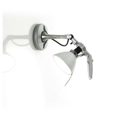 Luceplan Fortebraccio Swing Arm Wall Lamp