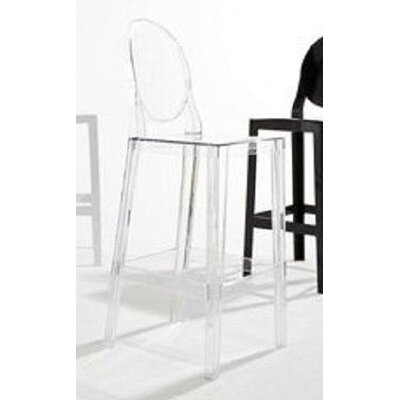 "Kartell ""One More, One More Please"" Barstool with Oval Back"