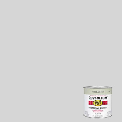 RustoleumStopsRust 1/2 Pint Aluminum Protective Enamel Oil Base Paint 7715 730
