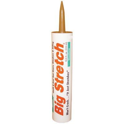 Sashco 10.5 oz Wood Big Stretch Caulk and Seal