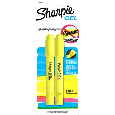 Sharpie Gel Highlighter in Yellow