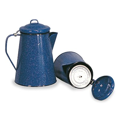Stansport Enamel 12 Cup Coffee Pot