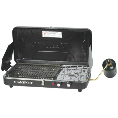 Stansport Combo-Piezo Igniter Propane Stove and Grill