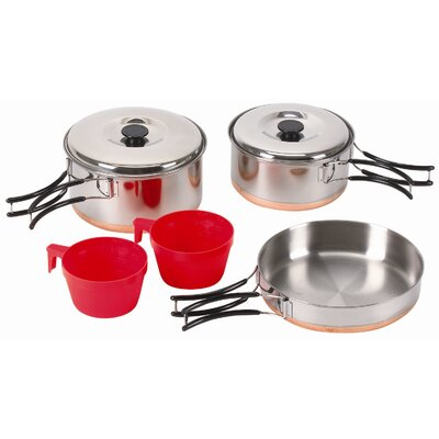 Stansport Two Person Stainless Cook Set