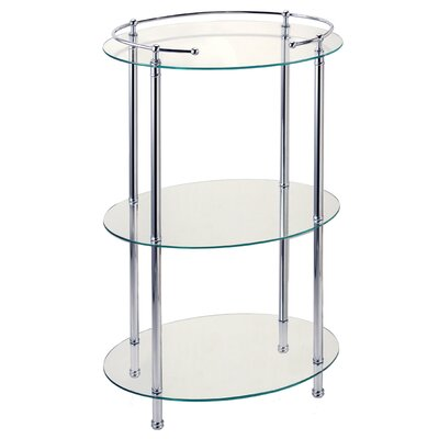 "Gatco Taboret 19"" x 31""  3-Tier Shelf"