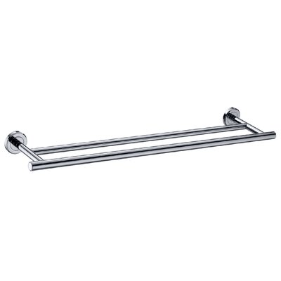 Gatco Latitude II Double Towel Bar in Chrome