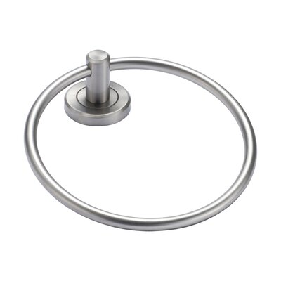 Gatco Latitude II Towel Ring in Satin Nickel