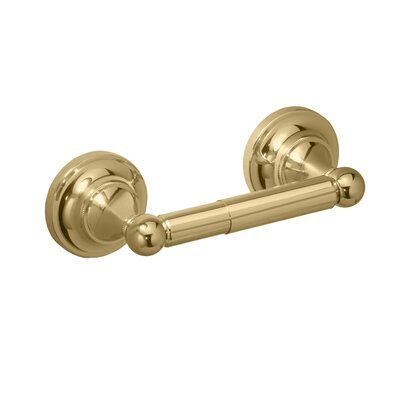 Gatco Tiara Toilet Paper Holder in Polished Brass
