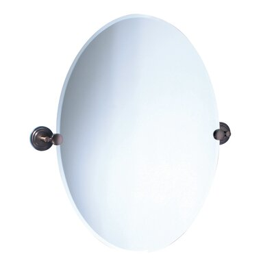 Marina Oval Mirror in Oil Rubbed Bronze