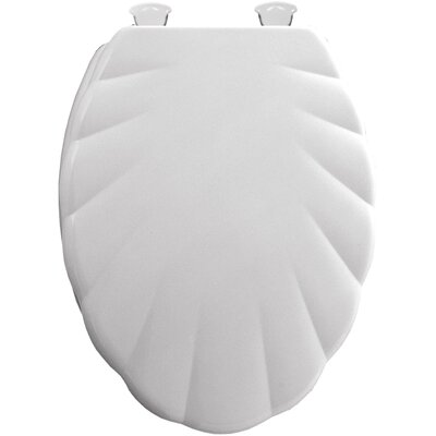 Shell Molded Wood Elongated Toilet Seat