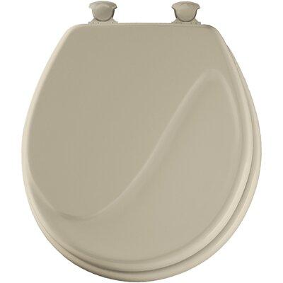 Bemis molded wood wave design round toilet seat reviews wayfair - Toilet seats design ...