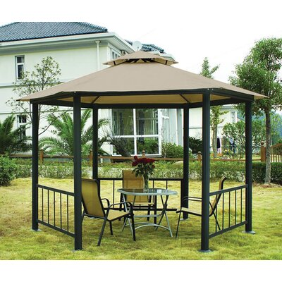 Coolaroo Victoria 11' Hexagonal Gazebo