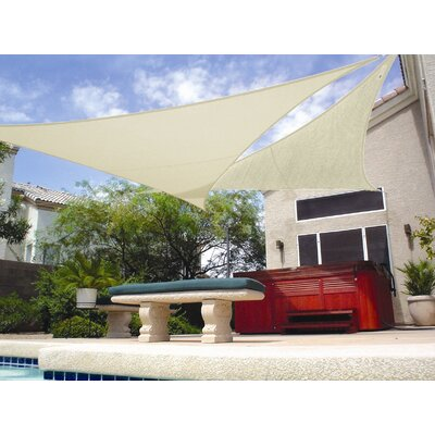 "Coolaroo 11'10"" Ready to Hang Shade Sail"