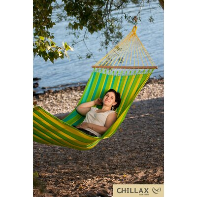 Single Hammock with Timber Spreader Bar