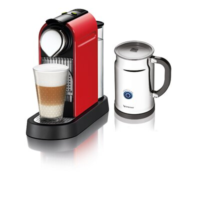 Citiz Espresso Maker with Aeroccino Plus Milk Frother
