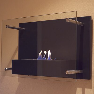 Radia Wall Mounted Bio Ethanol Fuel Fireplace
