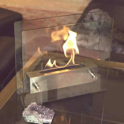Bluworld Irradia Tabletop Bio Ethanol Fireplace